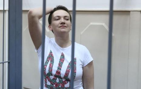 Надія Савченко у суді