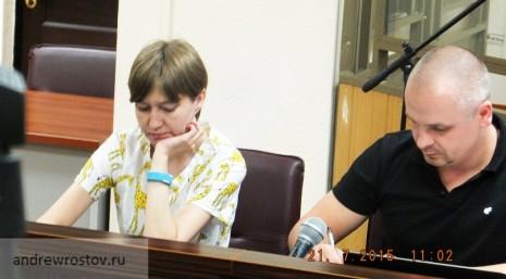 Адвокат Сенцова Дмитро Гінзе і сестра Наталя Каплан