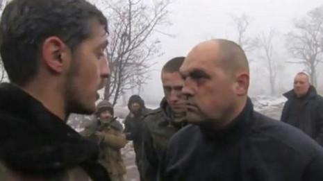Олег Кузьміних в полоні у терористів