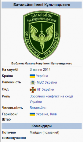 Батальйон імені Сергія Кульчицького
