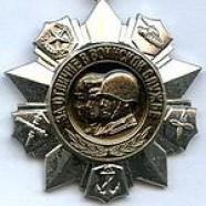 Медаль «За отличие в военной службе» II степени
