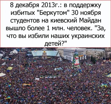 Акція протесту у Києві 8 грудня 2013 року