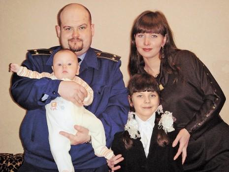 Сім'я Костянтина Могилко