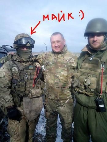 Максим Миргородський із Юрієм Бірюковим