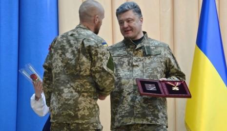 Награждение Масима Миргородского Орденом Богдана Хмельницкого I степени