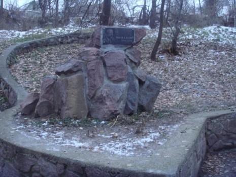 Пам'ятник В'ячеславу Чорноволу в Каневі