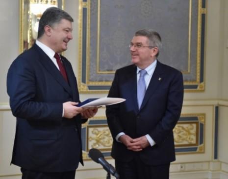 Нагородження Томаса Баха Орденом князя Ярослава Мудрого V ступеня, 15 грудня 2015 р.