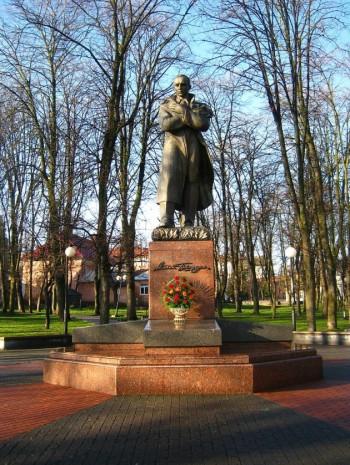 Пам'ятник Степану Бандері в Дрогобичі