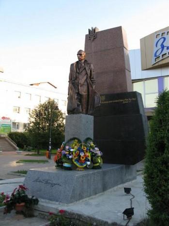 Пам'ятник Степану Бандері у Трускавці