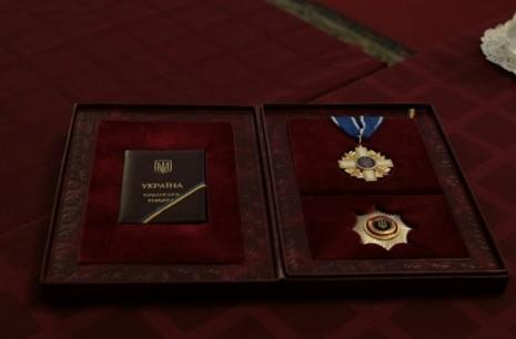 Звезда и Крест Ордена За мужество первой степени