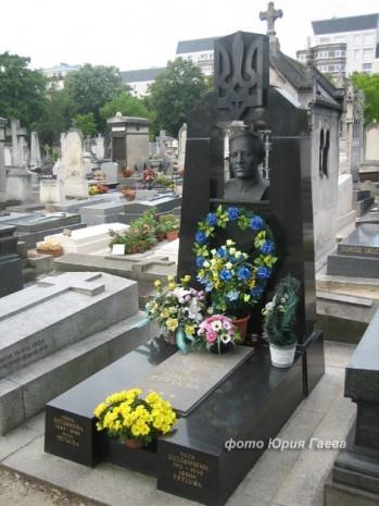 Могила Симона Петлюри у Парижі