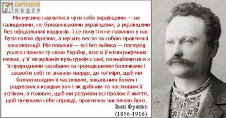 Слова Івана Франка
