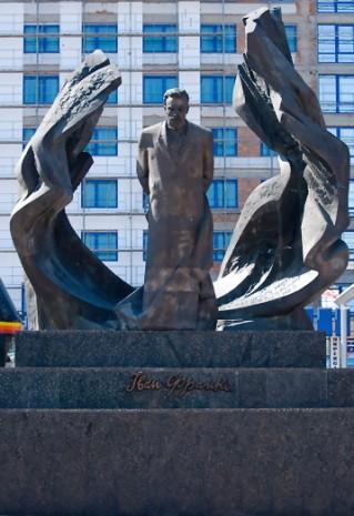 Пам'ятник Івану Франку в Івано-Франківську