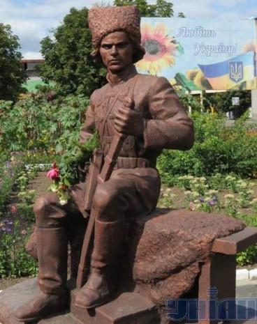 Пам'ятник Нестору Махну в Гуляйполі