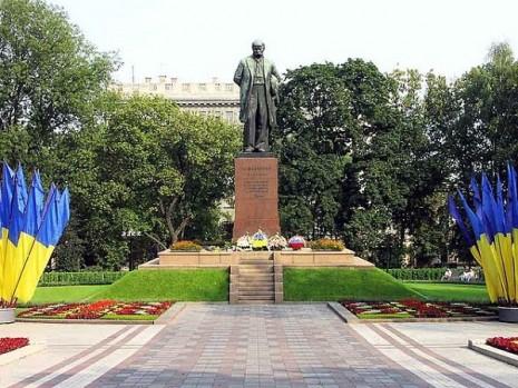 Пам'ятник Тарасу Шевченку в Києві