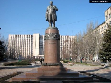 Пам'ятник Тарасу Шевченку в Донецьку