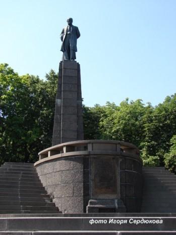 Місце поховання Тараса Шевченка в Каневі