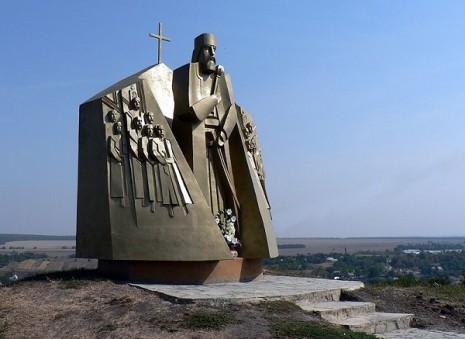 Пам'ятник Петру Сагайдачному під Хотином