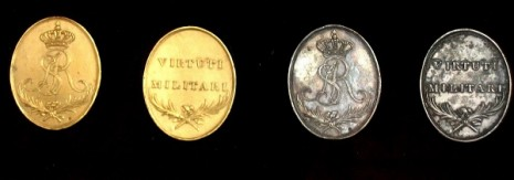 Медали золотого и серебрянного классов
