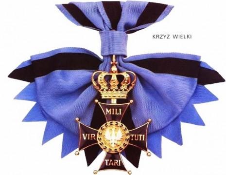 Орден военный Virtuti Militari - Большой крест со звездой (первый класс)