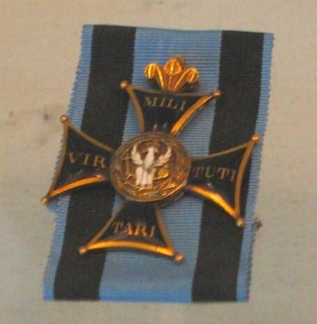 Орден военный Virtuti Militari - Командорский крест (второй класс)