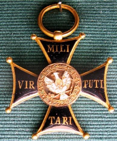 Орден военный Virtuti Militari - Рыцарский крест (третий класс)