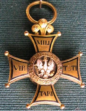 Орден военный Virtuti Militari - Золотой крест (четвертый класс)