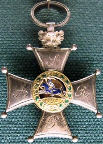 Орден военный Virtuti Militari - Серебряный крест (пятый класс)