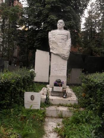 Могила Павла Рибалка у Москві
