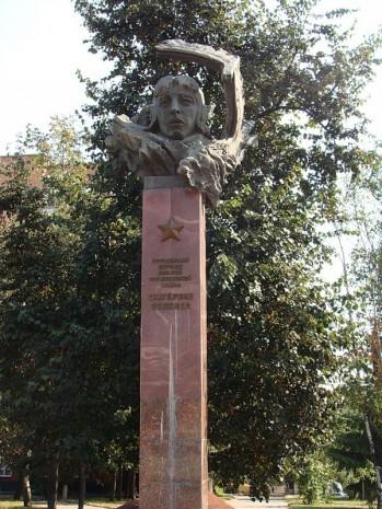 Пам'ятник Катерині Зеленко в Курську