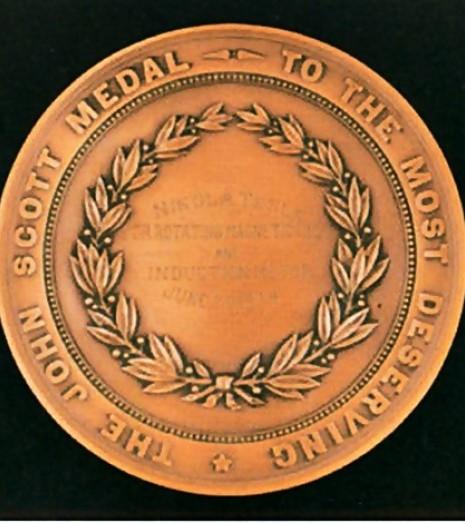 Медаль Джона Скотта