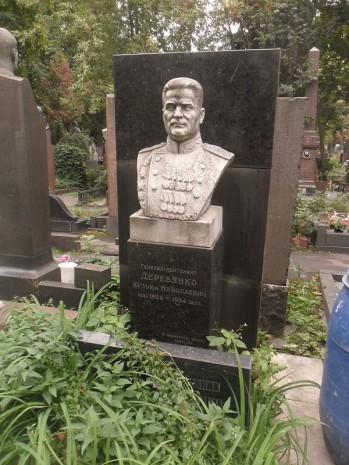 Могила Кузьми Дерев'янка в Москві