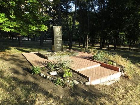 Пам'ятник Василю Маргелову в Кишиневі