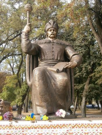 Пам'ятник Івану Мазепі в Полтаві