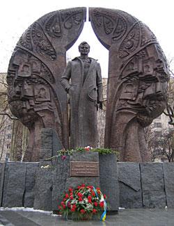 Пам'ятник Георгію Гонгадзе у Києві