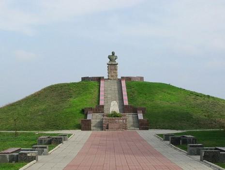 Могила Івана Сірка на Хортиці