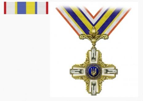 Орден Свободы и планка ордена