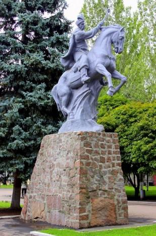 Пам'ятник Богдану Хмельницькому в Донецьку