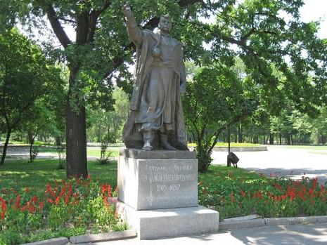 Пам'ятник Богдану Хмельницькому в Запоріжжі