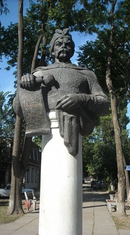Бюст Богдана Хмельницького в Сімферополі