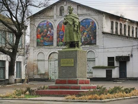 Пам'ятник Богдану Хмельницькому в Нікополі