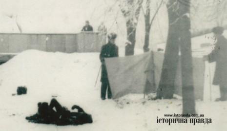 На місці самоспалення Олекси Гірника на Чернечій горі