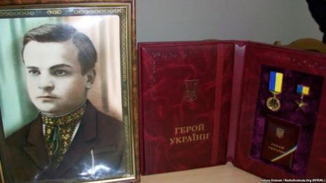 Комната памяти Алексея Гирныка в Богородчанской школе №1