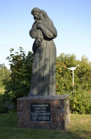 Памятник Немидоре, героине повести Микола Джеря