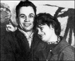 Алла Горская со своим мужем Виктором Зарицким