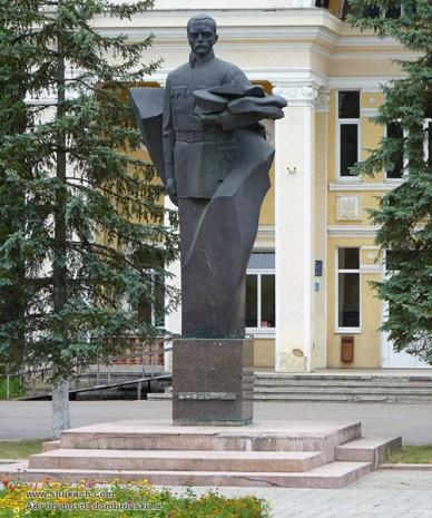 Памятник Дмитрию Витовскому в с. Брошнив-Осада