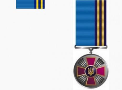 Медаль «За сумлінну службу» другого ступеня