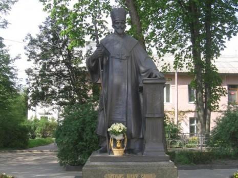 Памятник Иосифу Слипому в Тернополе
