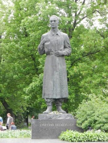 Памятник Григорию Сковороде в Киеве