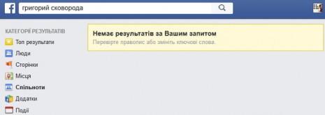 Григорий Сковорода на Facebook